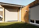 Senkrecht-Fassadenmarkisen